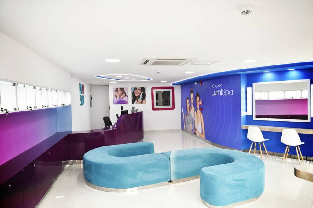 alt=sala de espera de fluidez y flexibilidad espacial