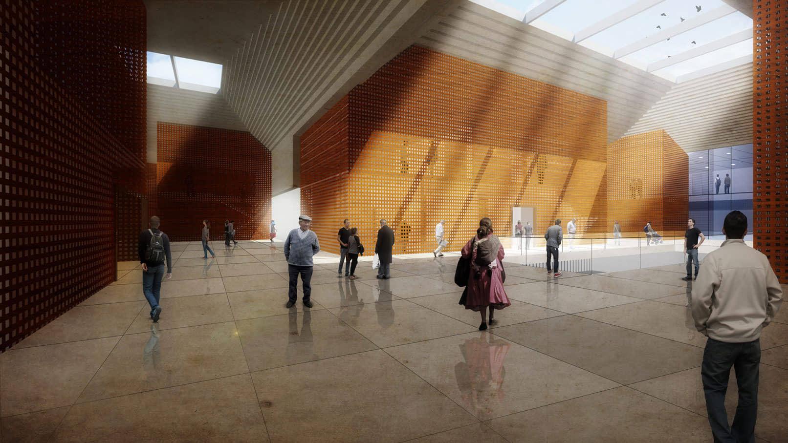 alt=vista interior 2 de Centro Cultural WIÑAY AYNI MARKA