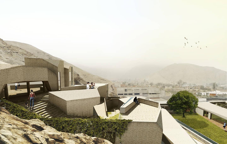 alt=vista desde los balcones de vivienda unifamiliar