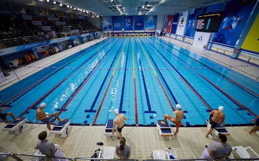 alt=piscina olímpica